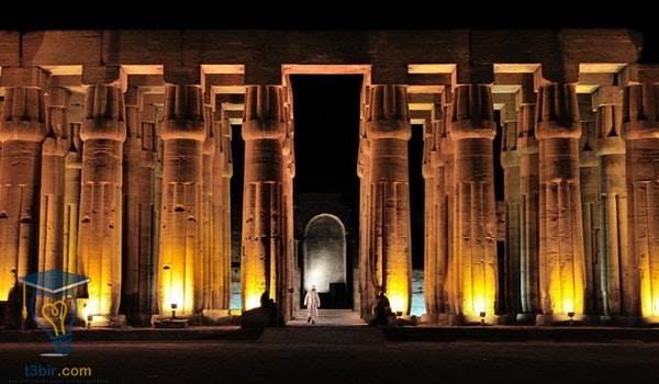موضوع تعبير عن جمال مصر واثارها بالعناصر