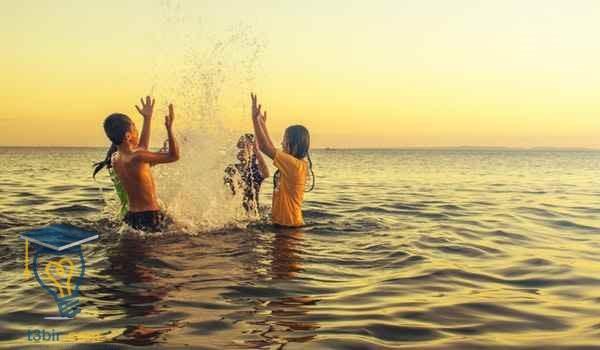 موضوع تعبير عن الاجازة الصيفية