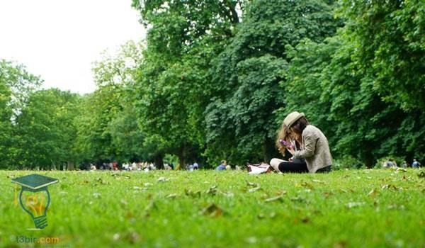 موضوع تعبير عن الحدائق العامة للصف السادس بالعناصر