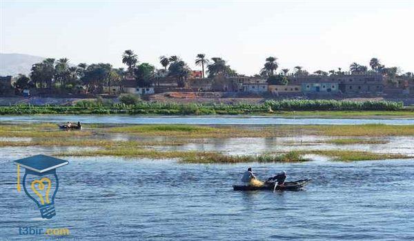 موضوع تعبير عن حماية نهر النيل من التلوث