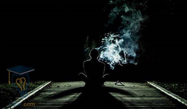 بحث عن التدخين بالافكار