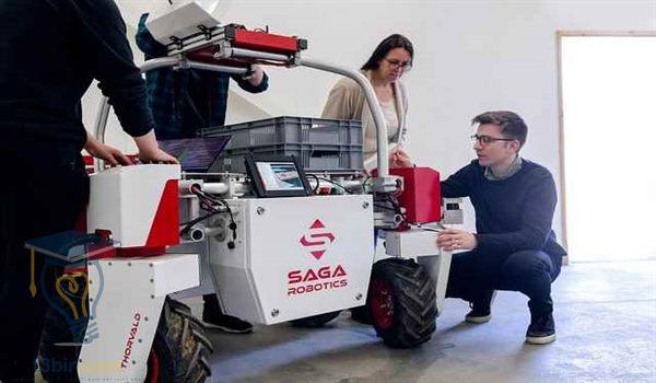 بحث عن برمجة الروبوت