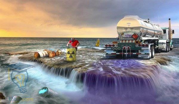 بحث عن موضوع تلوث المياه