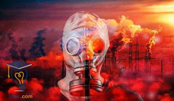 بحث عن انواع الغازات